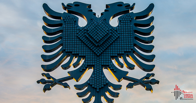 Scanderbeg Square in Tirana