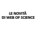 Le novità di Web of Science